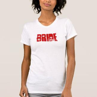 Réservoir de jeune mariée de FUSIL DE CHASSE T-shirt