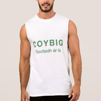 Réservoir de lá de ár de COYBIG Tiocfaidh Tee-shirts Sans Manches