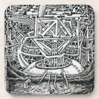Réservoir de tentacule par Brian Benson Dessous-de-verre