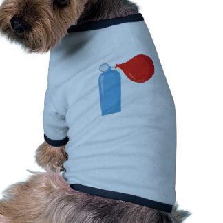 Réservoir d'hélium vêtement pour animal domestique