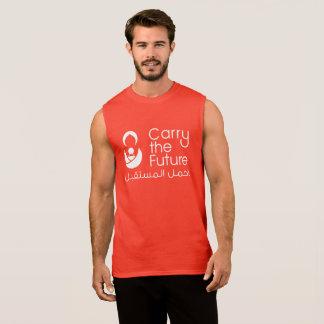 Réservoir du muscle des hommes t-shirt sans manches