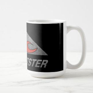 Réservoir flamboyant de crâne mug à café