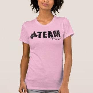 Réservoir rose de Sharon d'équipe T-shirt