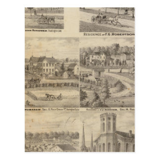 Résidence de John Kenower, Huntington Carte Postale