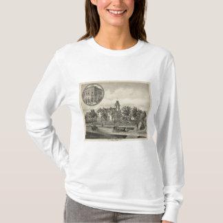 Résidence de Kirby et banque, Abilene, le Kansas T-shirt
