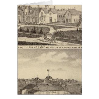 Résidence, grange et annexes de l'AR Earle Carte De Vœux