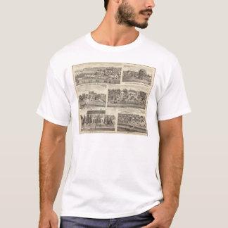 Résidences et résidences de ferme en CO2 de Putnam T-shirt