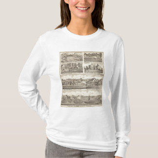 Résidences, fermes et usine, Vandalia, Sandoval T-shirt