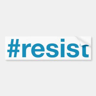 #resist autocollant pour voiture