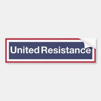 Résistance unie autocollant de voiture