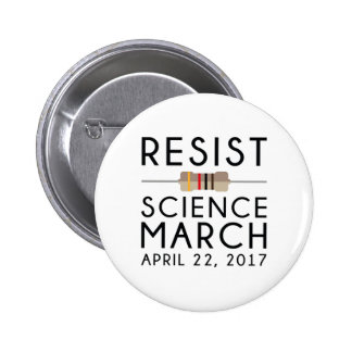Résistez à la Science mars Badges