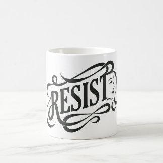 Résistez à la tasse de café