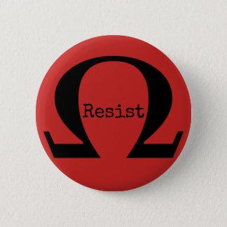 Résistez au bouton (rouge) badges