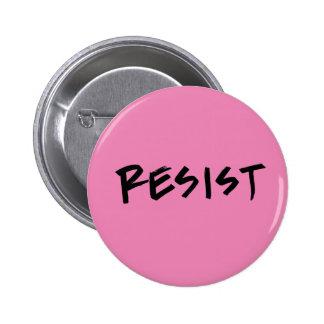 Résistez au bouton, taille standard, rose ou pin's