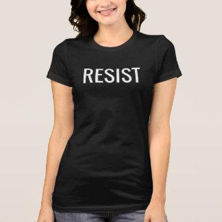 Résistez au T-shirt pour des femmes