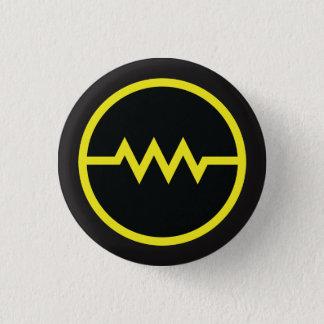 Résistez ! bouton de symbole (jaune) pin's