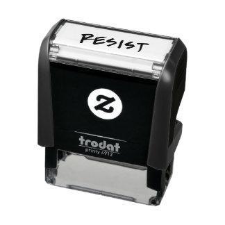 Résistez/timbre de résistance tampon auto-encreur