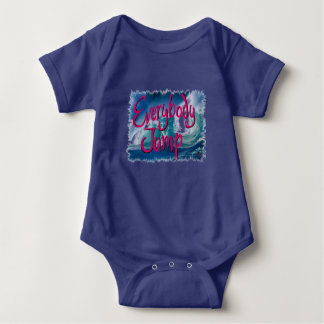 Résolution 2017 : Bébé tout le monde saut Body