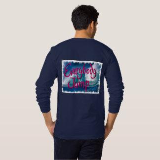 Résolution 2017 : Tout le monde sautent T-shirt