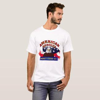 Résolution américaine t-shirt