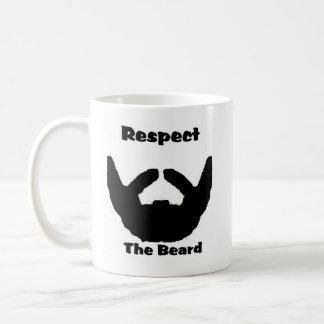 respectez la barbe mug