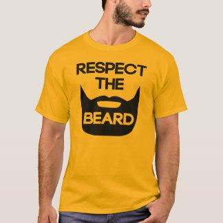 Respectez la barbe t-shirt