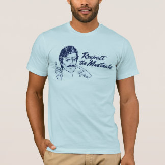 Respectez le T-shirt de moustache
