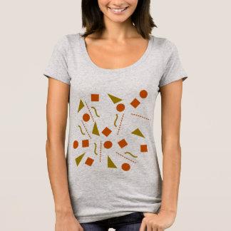 Respiration/prochain T-shirt de niveau de cou