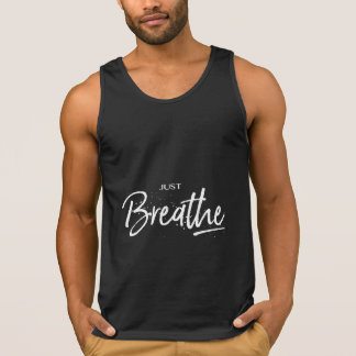 Respirez juste le noir frais de yoga