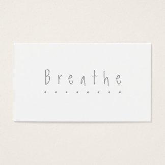 "Respirez - la carte ""faites pause"""