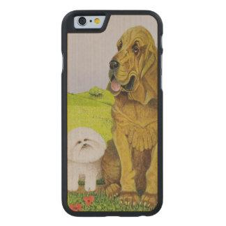 Responsable Coque Carved® Slim iPhone 6 En Érable
