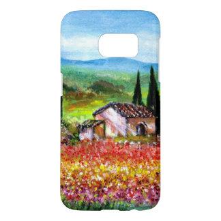 RESSORT DANS les domaines de fleur colorés de Coque Samsung Galaxy S7