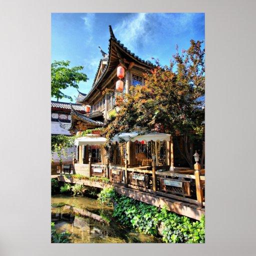 Ressort dans Yunnan Posters