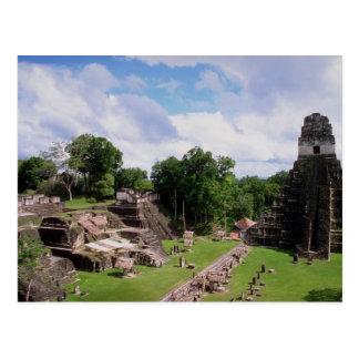 Restes maya, Tikal, Guatemala Carte Postale