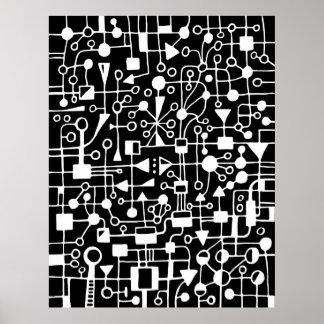 Résumé 090112 - Blanc dans le noir Poster