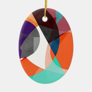 Résumé 2017 004 ornement ovale en céramique