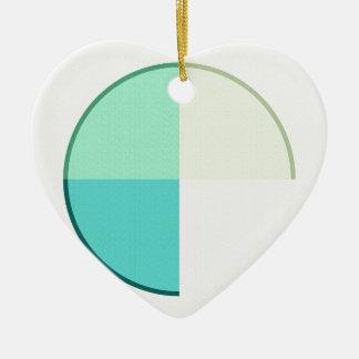 Résumé 2017 006 ornement cœur en céramique