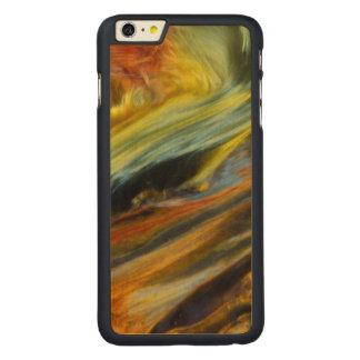 Résumé coloré de Pietersite Coque En Érable iPhone 6 Plus