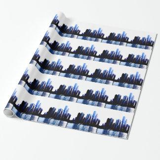 Résumé des effets du centre de Chicago Papier Cadeau