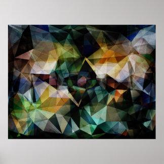 Résumé géométrique coloré