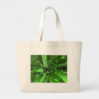 Résumé vert grand sac