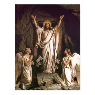 Résurrection du Christ. Cartes postales de Pâques