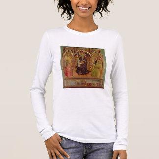 Retable de Madonna de la neige, c.1430-32 ( T-shirt À Manches Longues