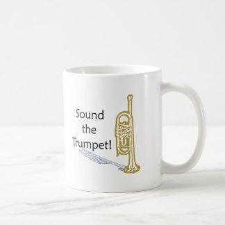Retentissez la trompette tasse