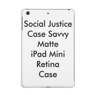 Rétine d'iPad mat intuitif de cas de justice