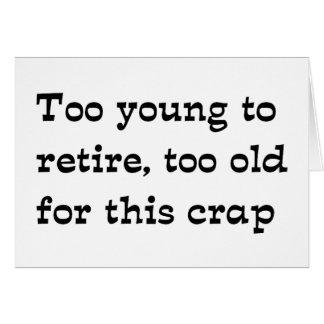 Retirez Carte De Vœux