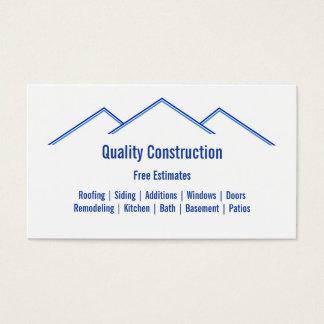 Cartes de visite retouche for Carte visite construction