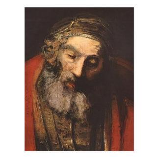 Retour de Rembrandt du fils prodigue (fragment) Carte Postale