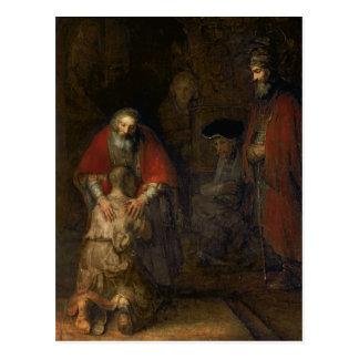 Retour du fils prodigue, c.1668-69 cartes postales