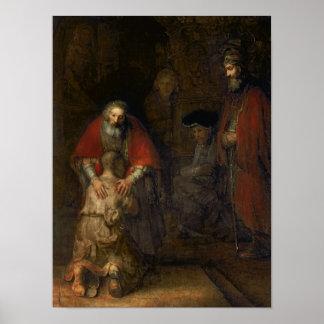 Retour du fils prodigue, c.1668-69 poster